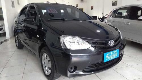 Toyota  Etios  2016  1.5 16v X 4p