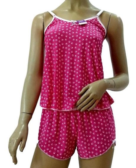 Short Doll Feminino Promoção Baby Doll Íntima Delas Betina