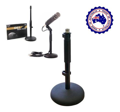 Mini Pedestal De Mesa Para Microfone De Estudio Rode Ds1