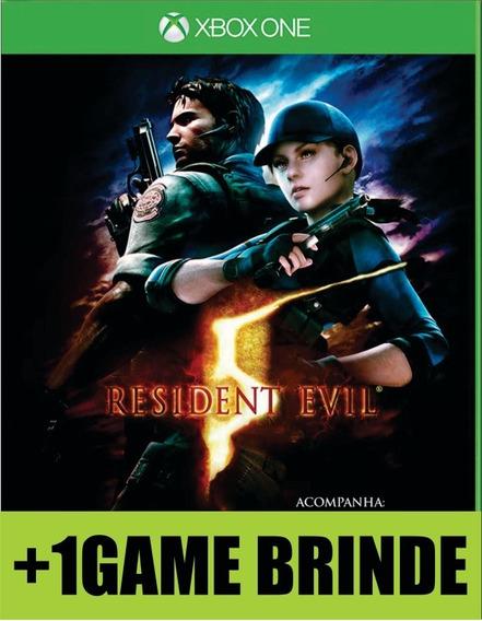 Resident Evil 5 Gold Edition Xbox One Mídia