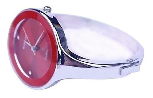 Relógio Feminino Bracelete Kimio Vermelho