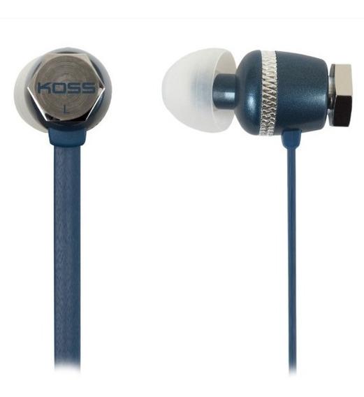 Fone In-ear Koss Ruk 30 B Azul + Nf E Garantia