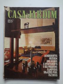 Revista Casa E Jardim Nº 167 Dezembro De 1968