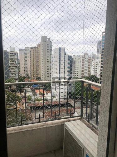 Apartamento Com 3 Dormitórios À Venda, 125 M² Por R$ 1.400.000,00 - Vila Uberabinha - São Paulo/sp - Ap7538
