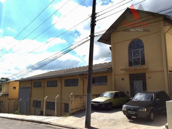 Galpão Comercial Para Locação, Vila Jovina, Cotia. - Ga0388