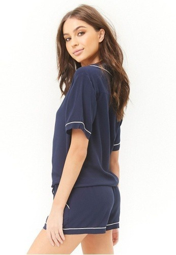 Pijama Forever 21 Dama Short Y Camisa. Hermoso!