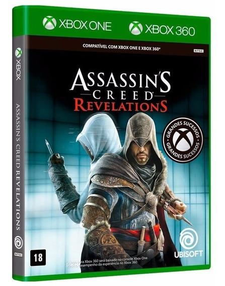 A. C. Revelations - Jogo P/ Xbox One Original - Midia Fisica