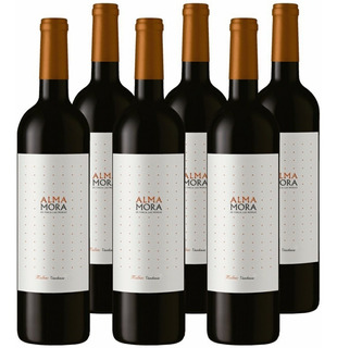 Vino Alma Mora Malbec 750ml Tinto Botella Caja X6 01almacen