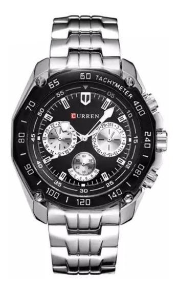 Relógio Curren 8077 Original Com Caixa Pronta Entrega