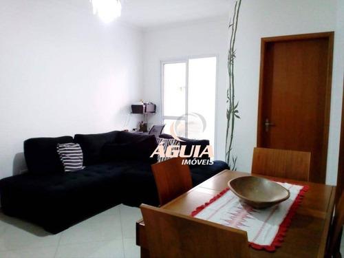 Apartamento Com 2 Dormitórios À Venda, 47 M² Por R$ 255.000,00 - Vila Tibiriçá - Santo André/sp - Ap2412