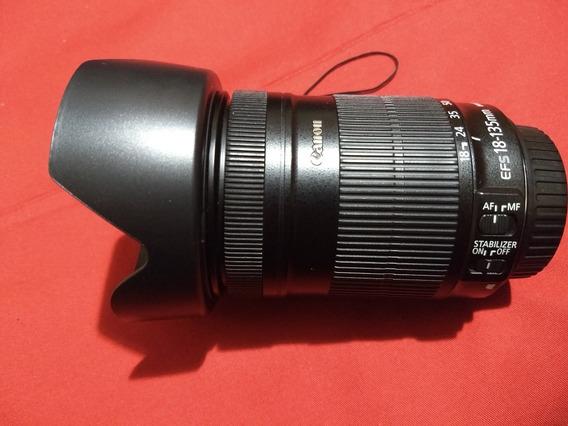 Canon Lente 18-135m