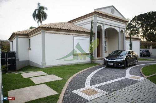 Casa De Altíssimo Padrão Em Atibaia Condomínio Fechado - 812