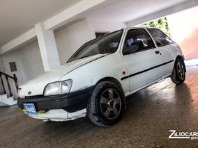 Ford Fiesta Cl 3p. Nafta 1996 3p Blanco Cuotas $27000
