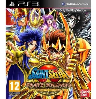 Saint Seiya Brave Soldiers Ps3 Psn Playstation Ps 3