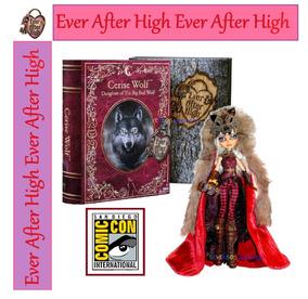 Ever After High Cerise Wolf Collector Sdcc Original Mattel