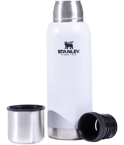 Plata 1,9 L construcci/ón Duradera Stanley Botella Extragrande de Acero Inoxidable