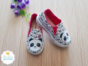 Slip Infantil Menino De Panda