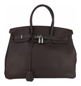 Bolsa Hermes Birkin Preta 35 - Importada 100% Auntentica