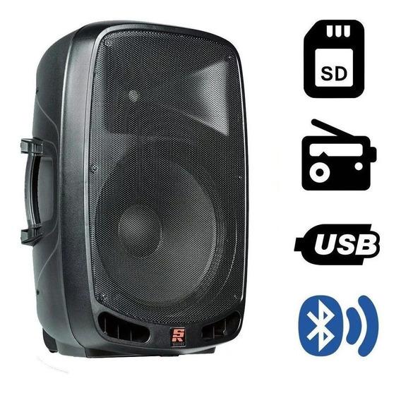 Caixa Ativa Amplificada Staner Ps1201 Bluetooth 150w Rms