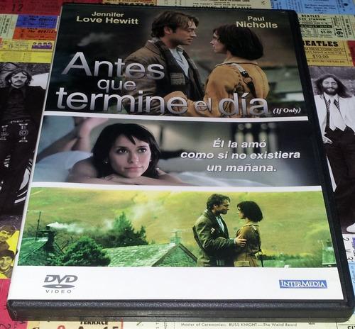 If Only - Jennifer Love Hewitt - Dvd Ed. 2006 Nuevo!