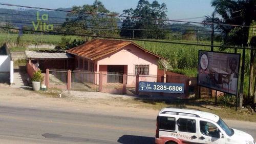 Casa Comercial À Venda, Poço Grande, Gaspar. - Ca0192