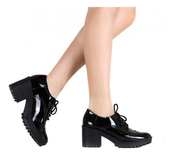 Sapato Feminino Via Marte Oxford 19-6507