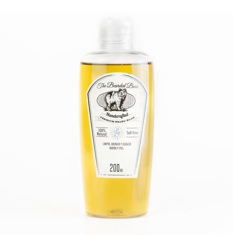 Shampoo Para Barba  Limpia Hidrata Y Suaviza Barba Y Piel