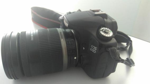 Camera Canon Eos 60d + Lente 18-200mm