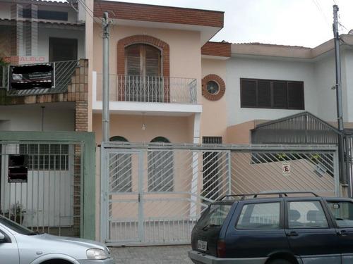 Sobrado Com 3 Dormitórios À Venda, 200 M² - Tatuapé - São Paulo/sp - So0887