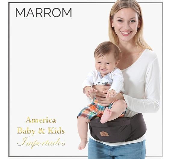 Suporte Segura Bebê Confort - Cor Marrom Escuro