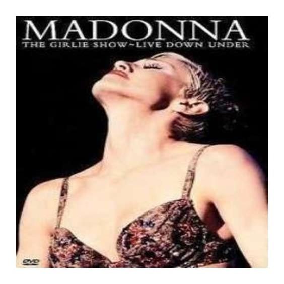 Madonna The Girlie Show Live Down Under Dvd Nuevo