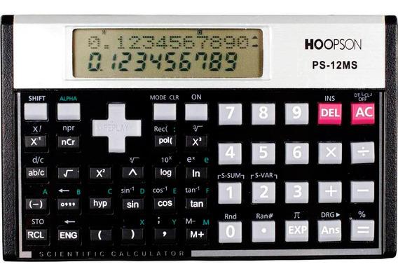 Calculadora Científica Hoopson Ps-12ms 240 Funcoes