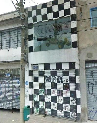 Loja Comercial À Venda, Mooca, São Paulo. - Lo0016