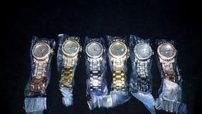 Relógio Cravejado Icedout Hip Hop