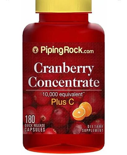 Cranberry 180 Capsulas Arandanos +vitamina C Americano