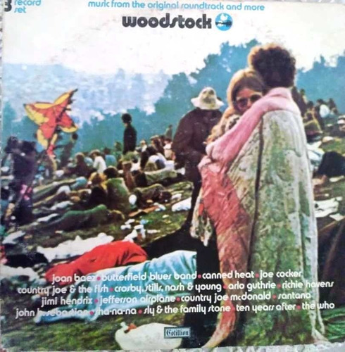 Disco Vinil Woodstock - Music From The Original Sountrack