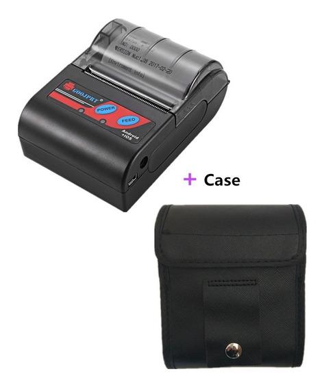Impressora Bluetooth Termica 57mm + Case De Proteção