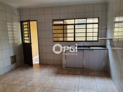 Imagem 1 de 28 de Casa Com 2 Dormitórios, 115 M² - Venda Por R$ 180.000,00 Ou Aluguel Por R$ 1.000,00/mês - Jardim José Sampaio Júnior - Ribeirão Preto/sp - Ca3097