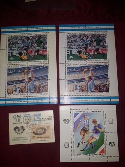 Estampillas Antiguas Futbol Argentina