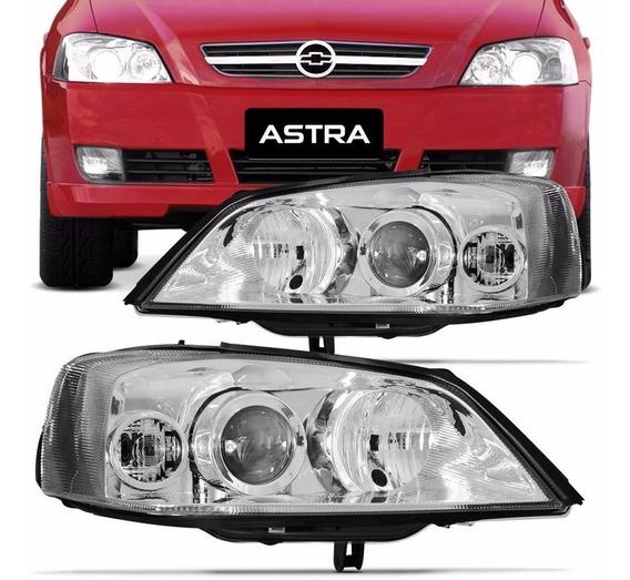 Farol Astra Sedan Hatch 03 04 05 06 07 08 09 10 11 12 Direit