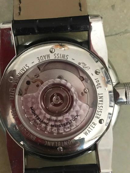 Reloj Montblanc Utc Meistertuck Semi Nuevo