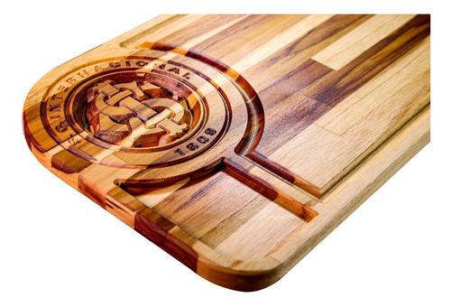 Imagem 1 de 5 de Tabua Carne Churrasco Inter Presente Para Namorado 50x30cm