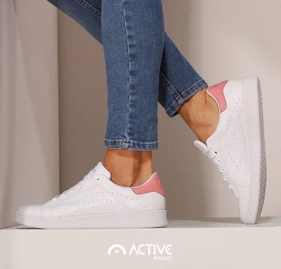 Zapatillas Ringo Aya Cuero Dama