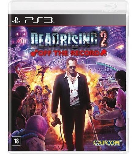 Dead Rising 2 Off The Record - Ps3 - Midia Fisica