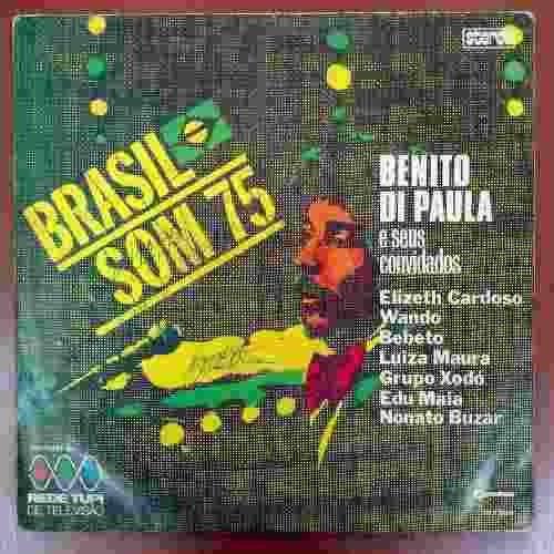 Lp Benito Di Paula Brasil Som 75 Disco De Vinil 1975