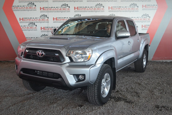 Toyota Tacoma 2014 Trd Sport 3.5 4x2 Plata