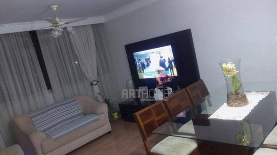 Apartamento Com 2 Dormitórios À Venda, 89 M² Por R$ 318.000,00 - Parque Terra Nova - São Bernardo Do Campo/sp - Ap0619