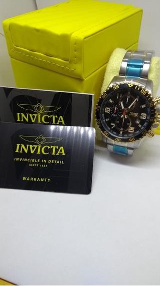 Relógio Invicta Specialty 14876 - Ouro 18k