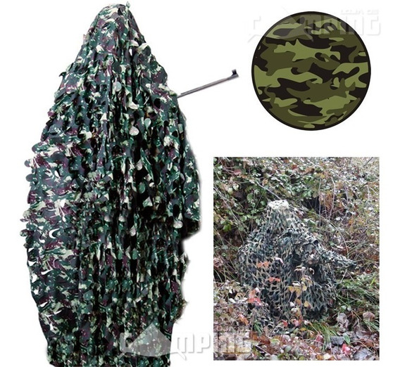 Rede Camuflagem Mata Floresta Exercito Militar Grande Top
