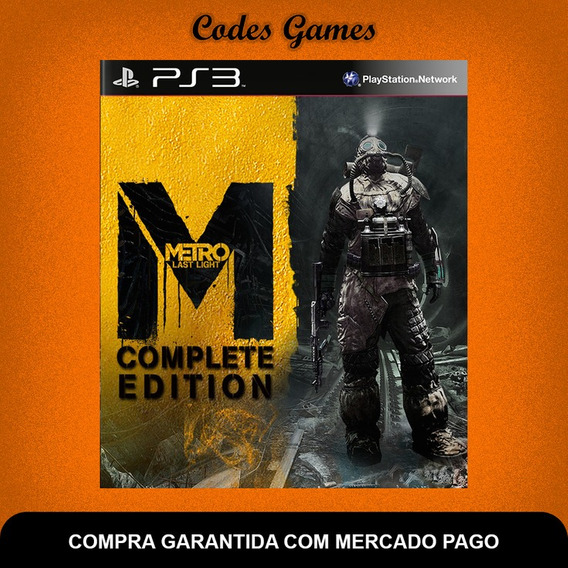 Metro Last Light - Complete Edition - Ps3 - Envio Imedia